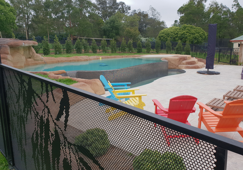 Pool Perf Perforated Pool Fencing Made To Measure And Council Approved